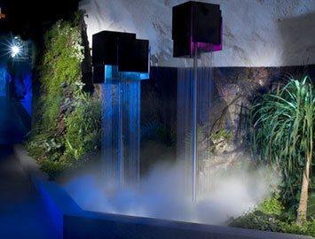 Струнно капельный водопад